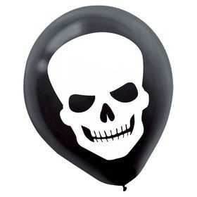 Skeleton Balloons (15 Pack)