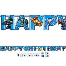 Skylanders 10 1/2ft. Add-An-Age Letter Banner (Each)