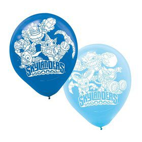 "Skylanders 12"" Latex Balloons (6 Pack)"