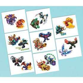 "Skylanders 2"" Tattoo Favors (16 Pack)"