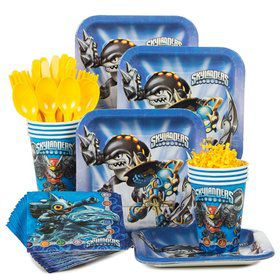 Skylanders Birthday Party Standard Tableware Kit Serves 8