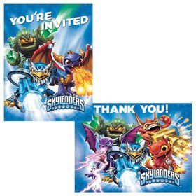 Skylanders Invitation/Thank You Set (16 Pack)