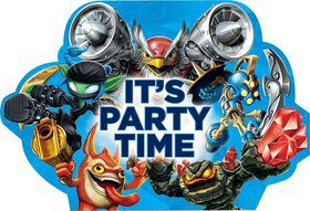 Skylanders Invitations (8 Pack)