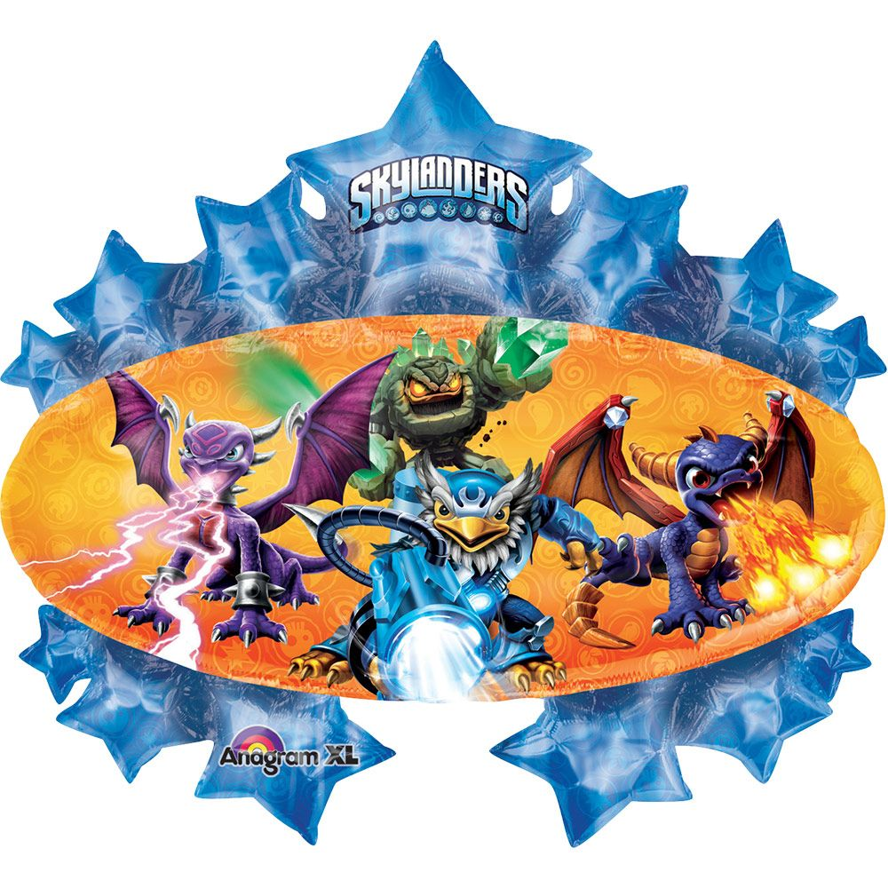 "Skylanders Marquee Shape 35"" Balloon (Each) - Party Supplies BB62606"