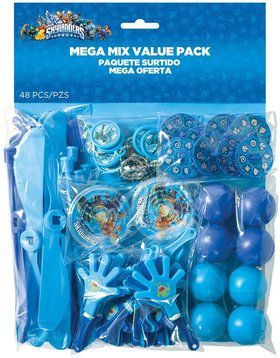 Skylanders Mega Mix Favor Pack (For 8 Guests)