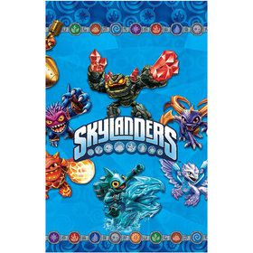 Skylanders Plastic Table Cover (Each)