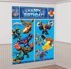 Skylanders Wall Decorating Kit (Each)