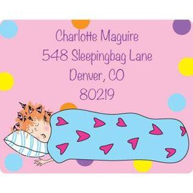Sleepover Personalized Address Labels (sheet of 15)
