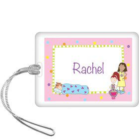 Sleepover Personalized Bag Tag (each)