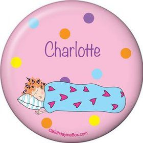 Sleepover Personalized Button (each)