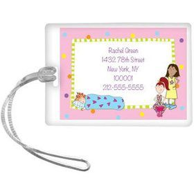 Sleepover Personalized Luggage Tag (each)