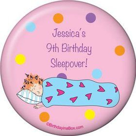 Sleepover Personalized Magnet (each)