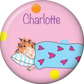 Sleepover Personalized Mini Button (each)