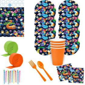 Slither.io Deluxe Tableware Kit (Serves 8)
