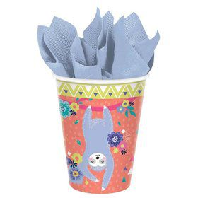 Sloth Celebration Paper Cups (8)