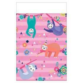 Sloth Celebration Table Cover