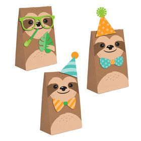 Sloth DIY Paper Treat Bags (8)