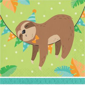 Sloth Lunch Napkins (16)