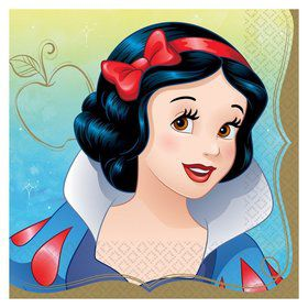 Snow White Lunch Napkins (16)