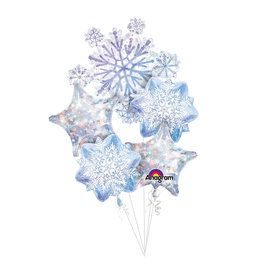 Snowflake Balloon Bouquet
