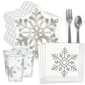 Snowflake Standard Tableware Kit (Serves 40)