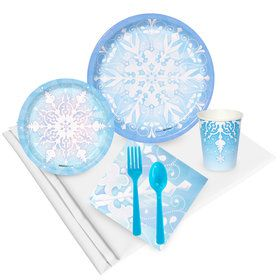 Snowflake Winter Wonderland Value Party Pack