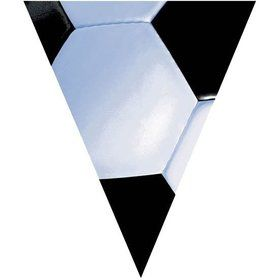 Soccer 12' Pennant Banner Decoration (Each)