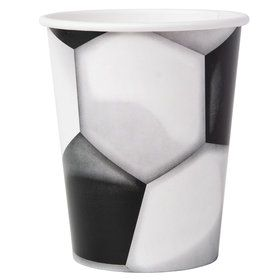 Soccer 9oz Paper Cups (8)