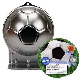 Soccer Ball Cake Pan (each)