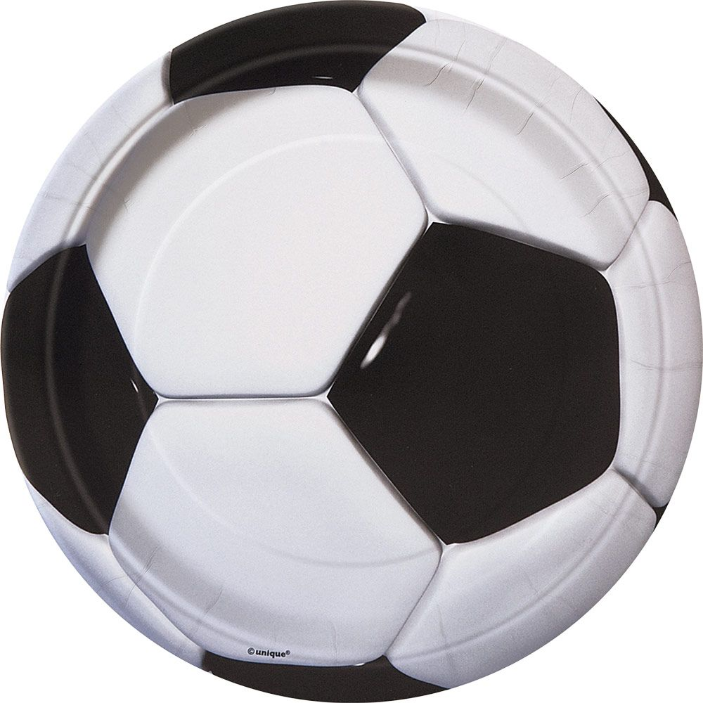 Soccer Luncheon Plates (8 Pack) BB27305