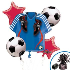 Soccer Party Balloon Kit