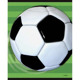 Soccer Party Favor Bags (8 Pack)