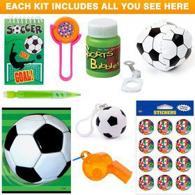 Soccer Party Favor Kit