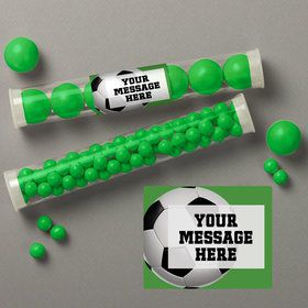 Soccer Party Personalized Candy Tubes (12 Count)