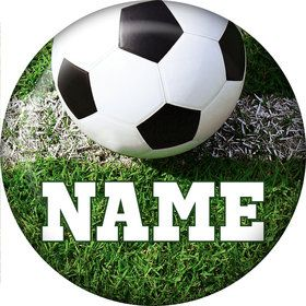 Soccer Personalized Mini Magnet (Each)