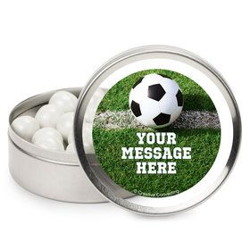 Soccer Personalized Mint Tins (12 Pack)