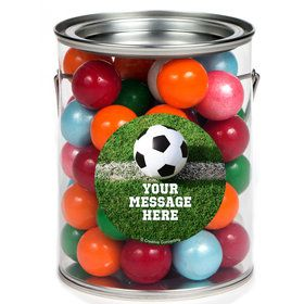 Soccer Personalized Paint Cans (6 Pack)