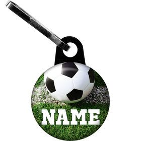 Soccer Personalized Zipper Pull (Each)