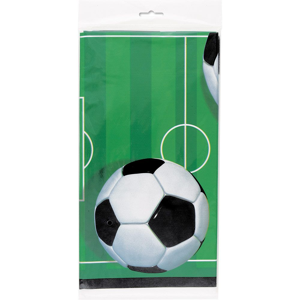 Soccer Plastic Table Cover (Each) BB27303