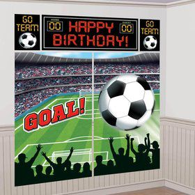 Soccer Wall Decorating Kit (Each)