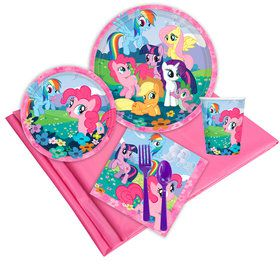 My Little Pony Friendship Magic 16 Guest Party Pack