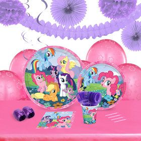 My Little Pony Friendship Magic 16 Guest Tableware Deco Kit