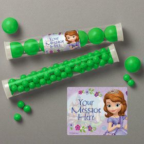 Sofia Personalized Candy Tubes (12 Count)