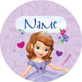 Sofia Personalized Mini Stickers (Sheet of 20)