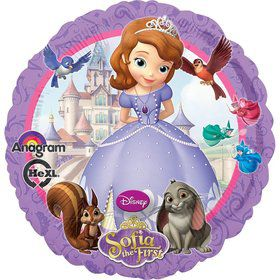 "Sofia the First 18"" Balloon (Each)"