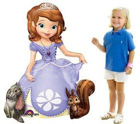 "Sofia the First 48"" Airwalker Balloon (Each)"