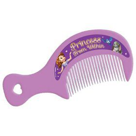 "Sofia the First 5"" Mini Comb Favors (Each)"