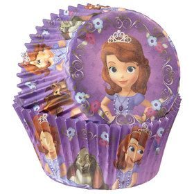 Sofia the First Cupcake Baking Cups (50 Pack)