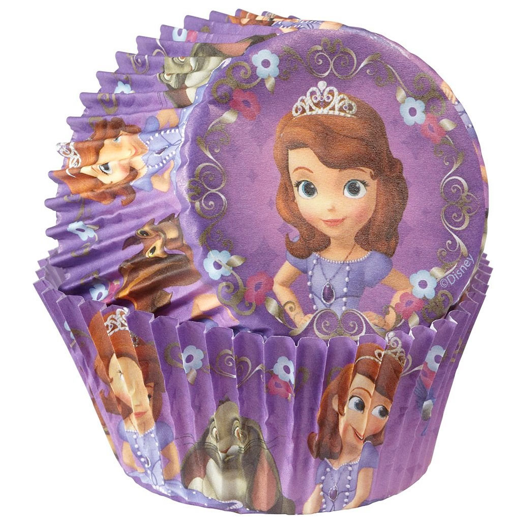 Sofia the First Cupcake Baking Cups (50 Pack) - Party Supplies BB4152822