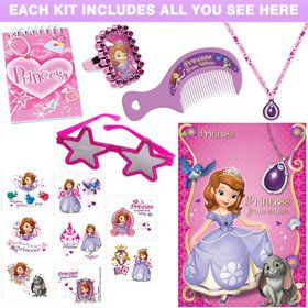 Sofia the First Deluxe Favor Kit (Each)